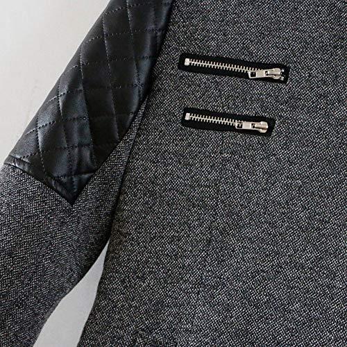 Manteau gris longues à pour pour Vêtements femmes manches femmes Shobdw OwqIvtx4x