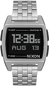 Nixon - Reloj Digital para Hombre con Correa de Acero Inoxidable
