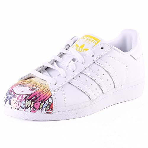 adidas Superstar Pharrell Supershell - Zapatillas para Hombre, Color Blanco/Amarillo, Talla 44 2/3: Amazon.es: Zapatos y complementos
