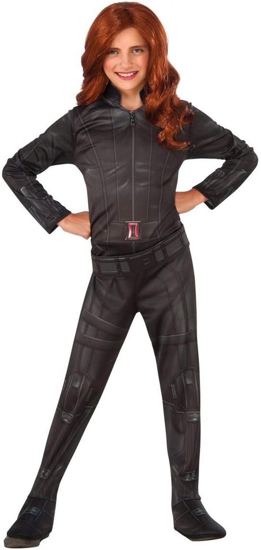 Rubies 620767- Disfraz de Viuda Negra para Niñas, Large (talla ...