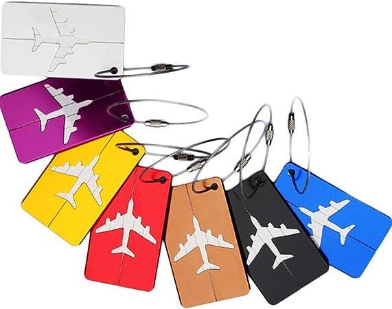 Etiqueta de identificación del equipaje, Febbya Etiquetas para ...