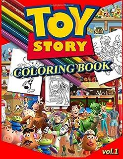Disney Pixar Toy Story Coloring Book: Parerik Book: 9781979201698 ...