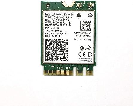 Amazon.com: Intel Wireless AC 9260 Single Pack Interno ...