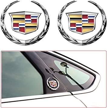 2 x 3D 4 RING LOGO Door Step Emblem plate Sills Interior Exterior Badge Sticker