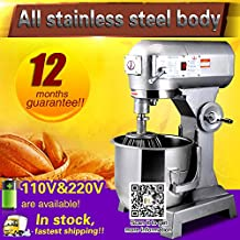 Yoli Multi-function mixer/egg mixer/dough mixer/stirring machine for commercial use 20L flour mixing machine B20