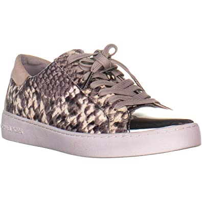ba8e11417520d Image Unavailable. Image not available for. Color: Michael Michael Kors  Womens Frankie Leather Low Top Lace Up ...
