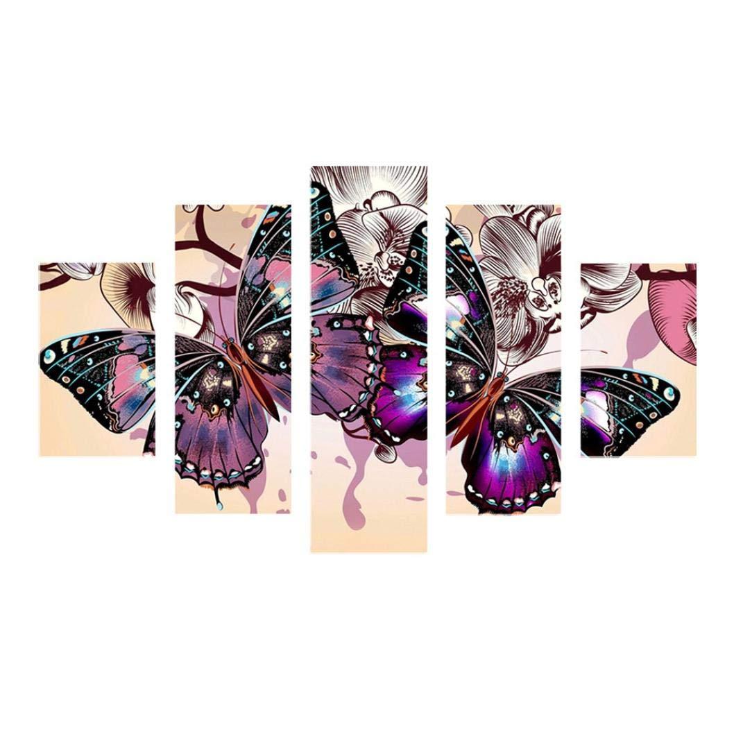 ❤️ Schmetterling Diamant Zeichnung DIY Stickerei Gemeinsame Painting Kreuz Stich Diamond Dekoration A Schmetterling, 95 * 45cm sunnymi 5D Full Diamant Joint Malerei