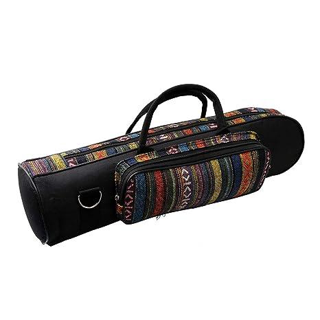 Yibuy - Funda para trompeta con doble cremallera, diseño de ...