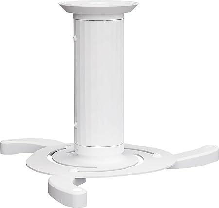 Pronomic FPRM-1 WT soporte techo para casa & negocio para proyectores/Beamer, blanco