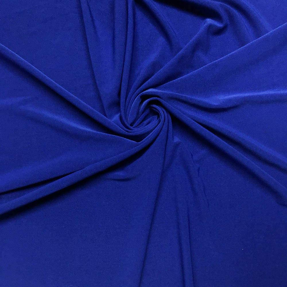 "ITY Fabric | 5 Yard Continuous | Jersey Spandex Knit | 2-Way Stretch | 60"" Wide (Royal Blue, 5 Yards)"