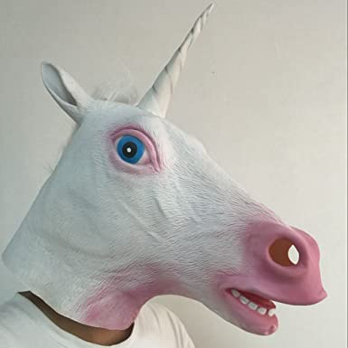 Unicorn Masquerade Mask