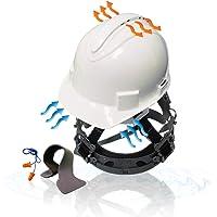 KwikSafety (Charlotte, NC) TURTLE SHELL (10 Vents FREE Extra Sweatband Earplugs) Standard Cap Style (One Size FITS MOST…