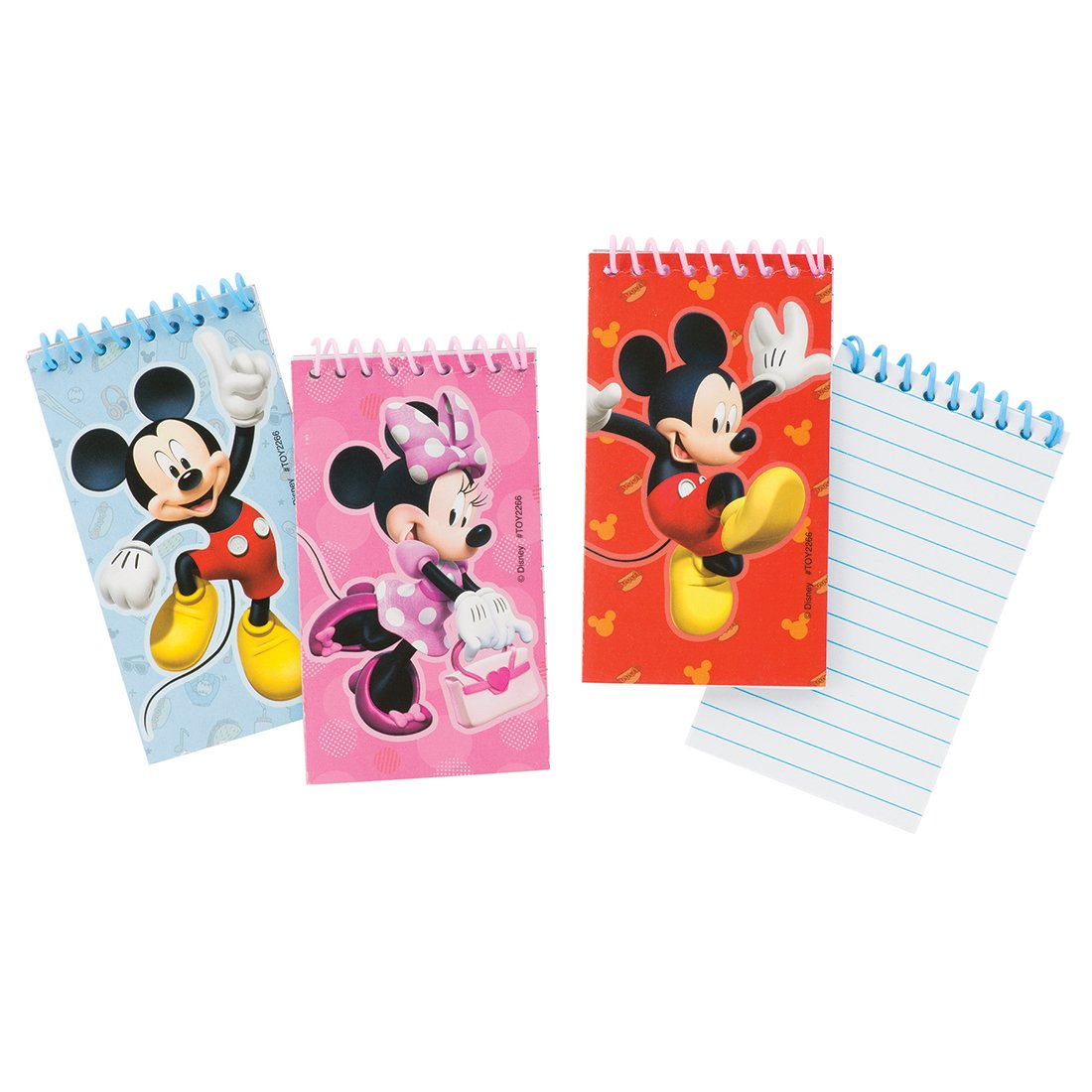SmileMakers Mickey Mouse Notepads - Prizes 72 per Pack