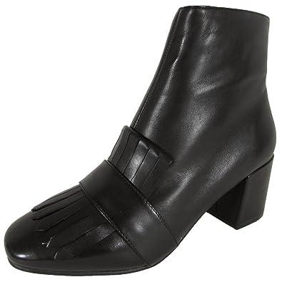 9a034c3059e Steven Womens Shooter Kiltie Bootie Shoes