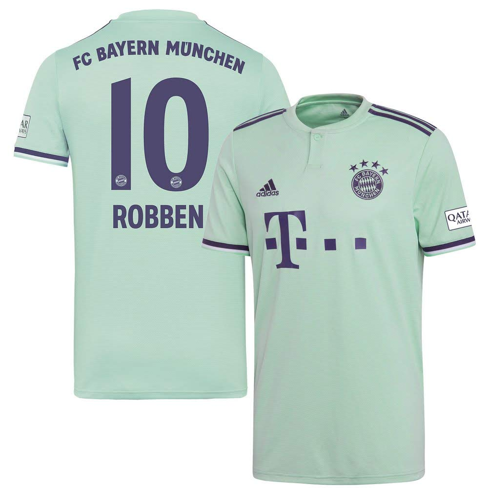 Player Print - adidas Performance Bayern München Away Trikot 2018 2019 + Robben 10