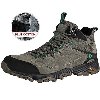 d025b4f92e7 HUMTTO Hiking Shoes Narrow Sole Men Winter Outdoor Sports Climbing Shoes …