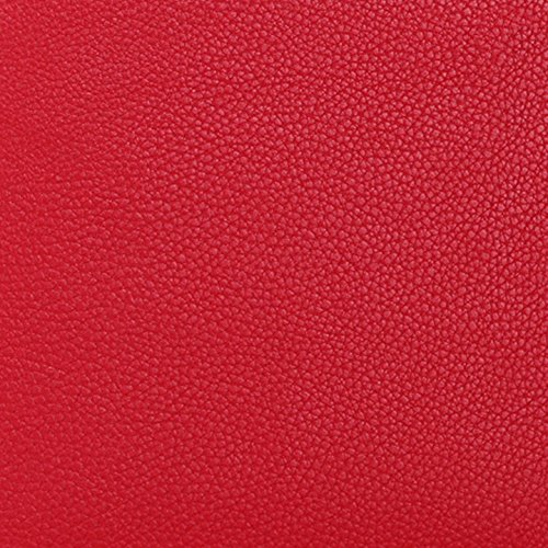 MacBook Air 13 sleeve case, FYY Premium Leather Sleeve Case with Pockets for Apple MacBook Air 13-inch (2010/2011/2012/2013 Version) Red (Exquisite Stylus for Free)