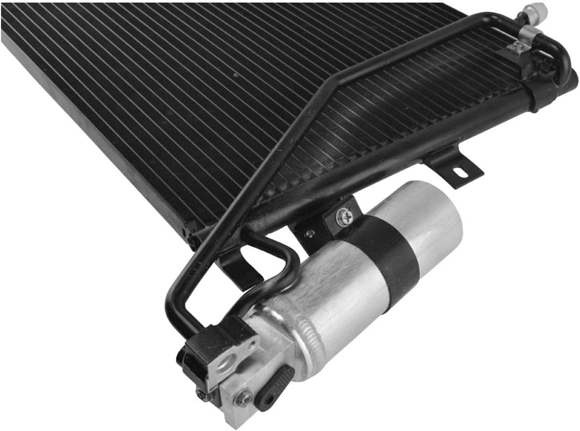AC Condenser A//C Air Conditioning w//Receiver Drier for Saab 9-5 Brand