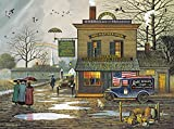 #2: Buffalo Games - Charles Wysocki - Dampy Donuts on a Dreary Day - 1000 Piece Jigsaw Puzzle