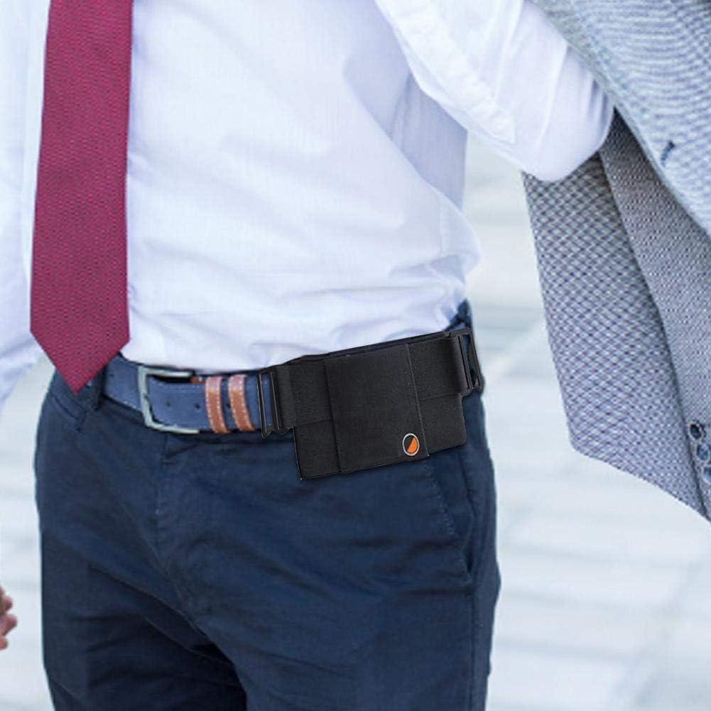Sac de Taille de Portefeuille Invisible pour Hommes Femmes Sac de Carte de Sac de t/él/éphone Portable /élastique Hete-supply Pochette de Portefeuille de Ceinture dargent de Voyage