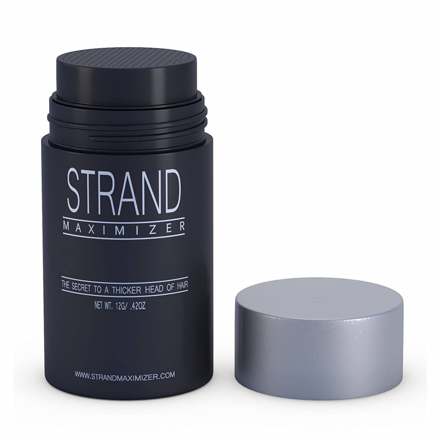 Fill In Powder Hair Fibers Hide Thinning Hair for Both Men & Women With Auburn / Red Hair, Net Wt 12g/42 OZ Strand Maximizer