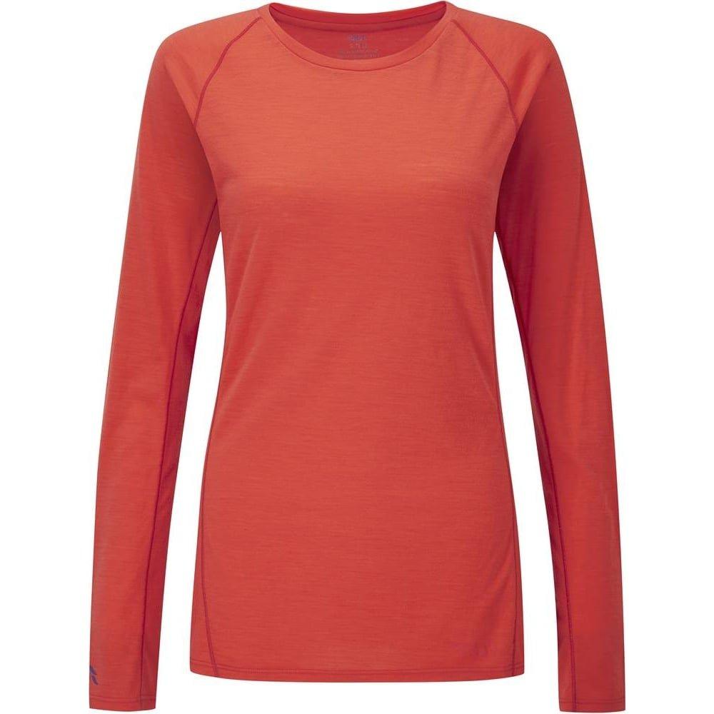 Rab Women's Merino Plus 120 Long Sleeve T-Shirt QBU-18-EB