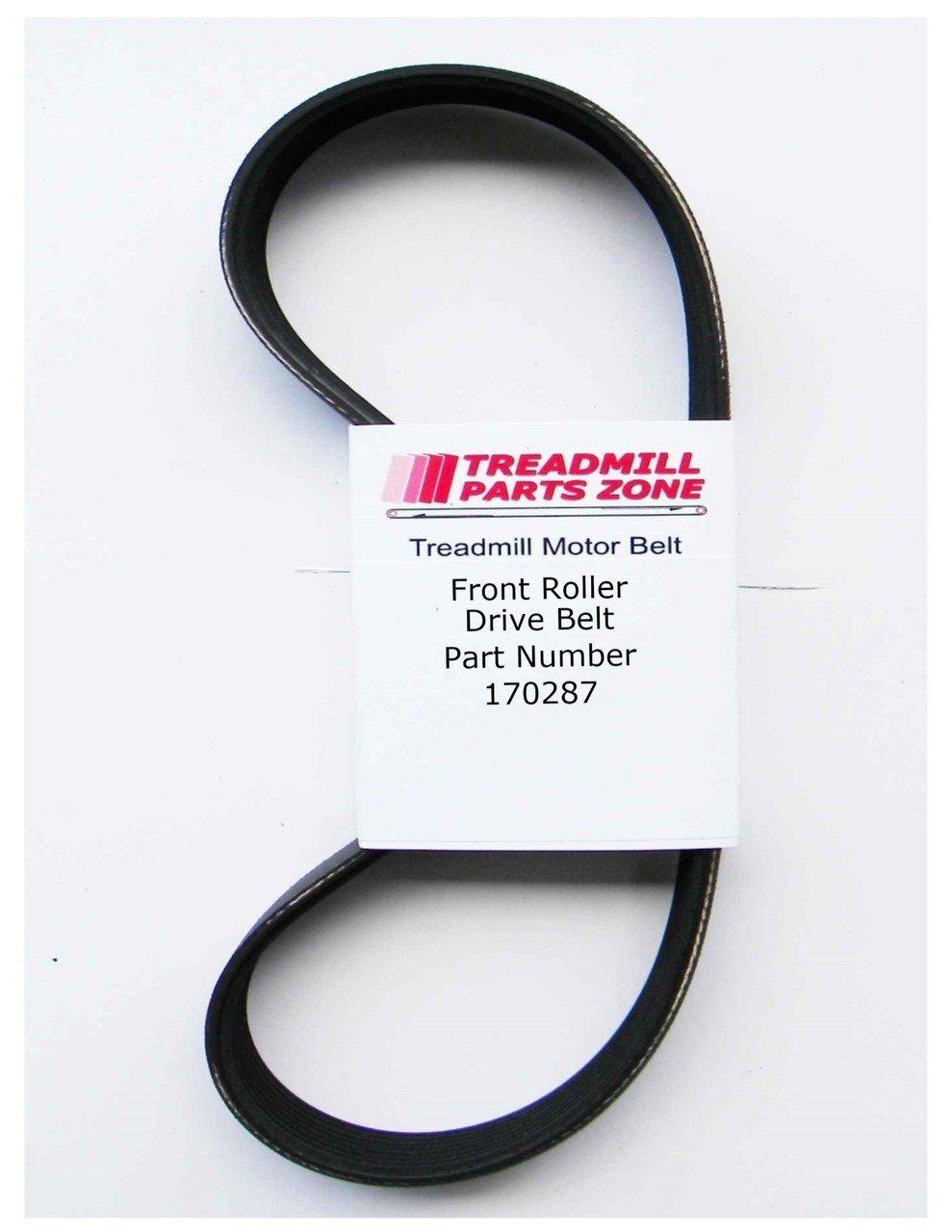 Treadmill Model HTL93940 HEALTHRIDER T650I Motor Belt Part 170287 Treadmillpartszone