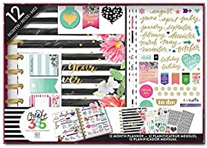 Create 365 Planner Box Kit- Best Year Ever/Stripes, Undated