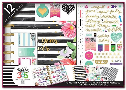 Create Planner Kit Stripes Undated