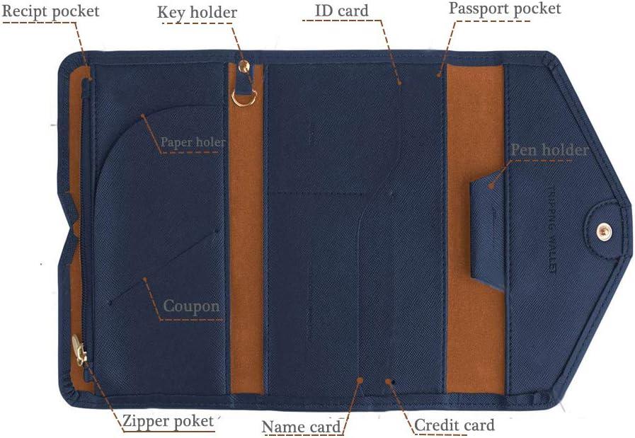 I Love London en cuir PU Passeport Housse De Voyage ID Titulaire Portefeuille Protecteur Case W
