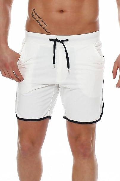 Happy Clothing Abbigliamento Pantaloni corti uomo Shorts Bermuda Pantaloni  tuta sportiva Pantaloni estivi Pantaloni Pantaloni Tessuto 95326be23847