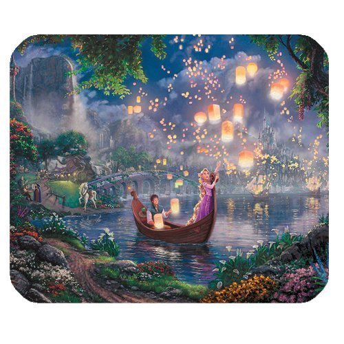 ROBIN YAM Personalized Disney Princess Rectangle Non-Slip Rubber Mousepad Gaming Mouse Pad -RYMP16186