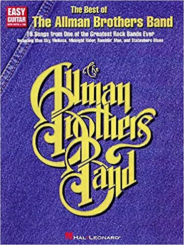 Amazon.com: The Best of the Allman Brothers Band (Easy Guitar ...