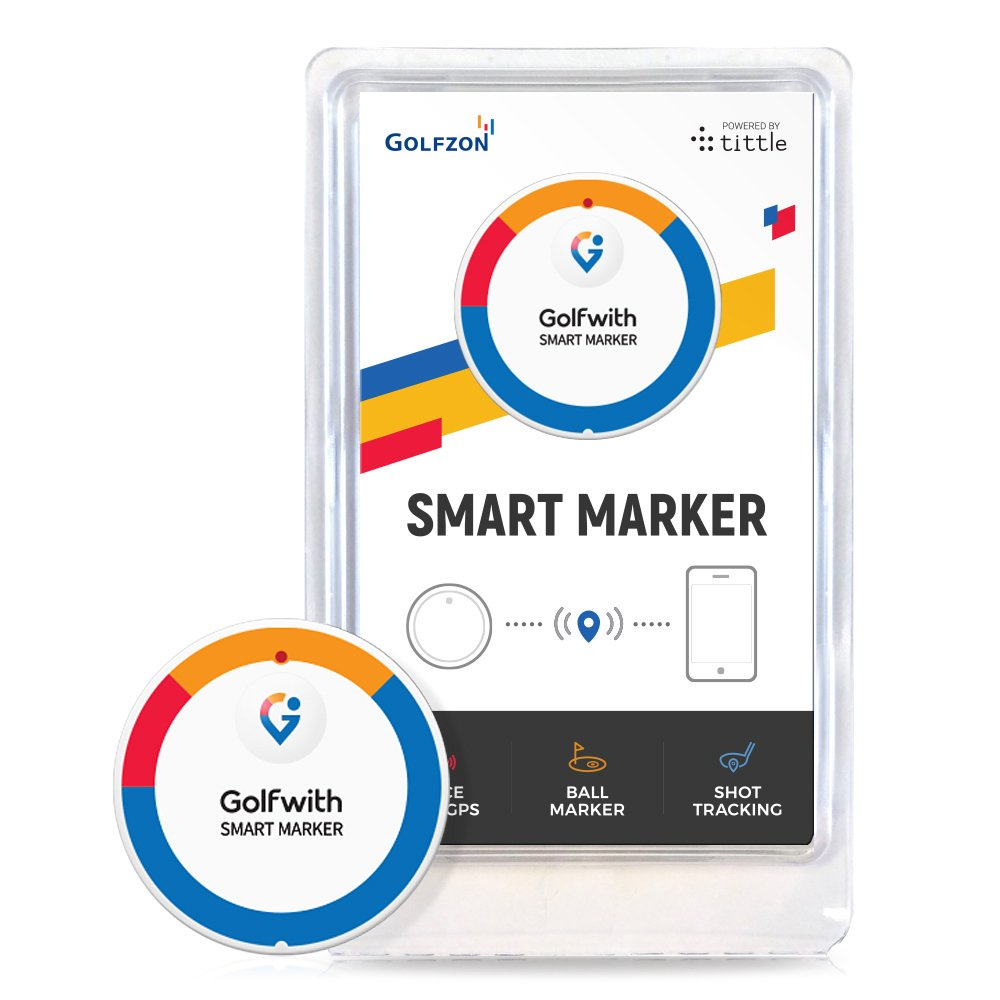 Golfwith Smart Marker White