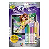 Crayola Colour Alive Action Colouring Pages, Enchanted Forest