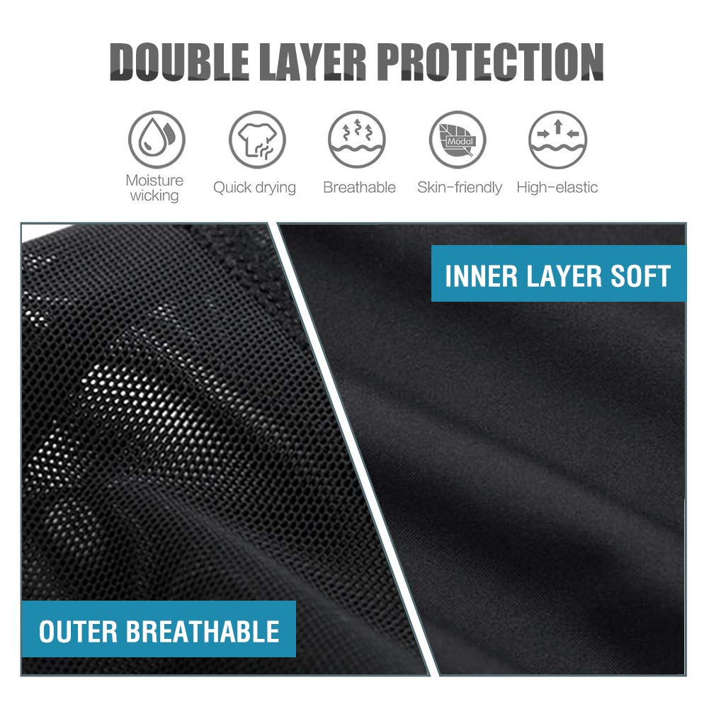 DoLoveY Mens Shapewear Bodysuit Full Body Shaper Compression Slimming Suit Breathable