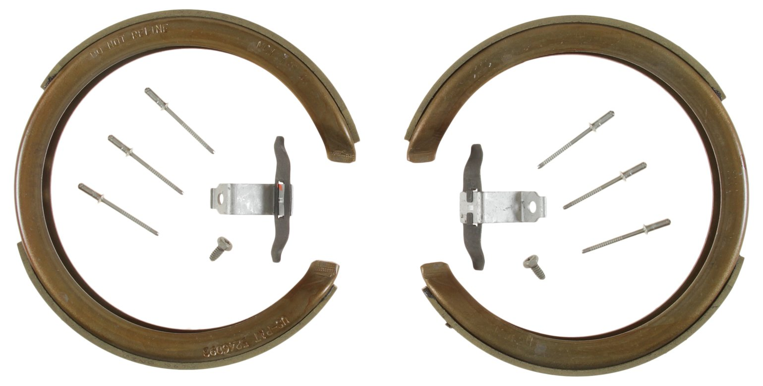 Bendix 882 Premium Copper-Free Brake Shoe, 4 Pack by Bendix