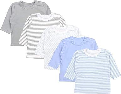 TupTam Camiseta Manga Larga para Beb/é Ni/ño Pack de 5