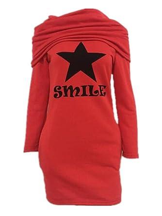 AILIENT Sudadera Mujer Blusas Manga Larga Abrigos Casuales Deportivo Chaquetas Mini Vestido Caída Invierno Tops Largo: Amazon.es: Ropa y accesorios