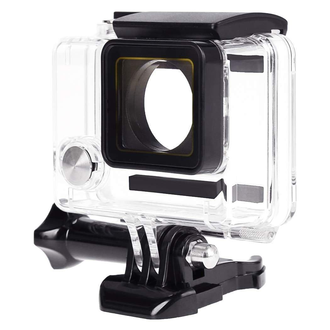 SODIAL(R) Transparent Underwater Waterproof Diving Camera Housing Case For Gopro Hero 4