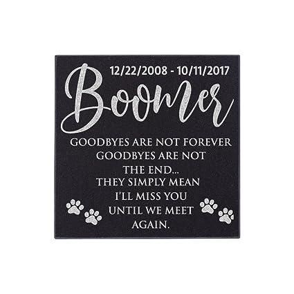 Amazon.com: Personalizado mascota tumba marcador para gatos ...