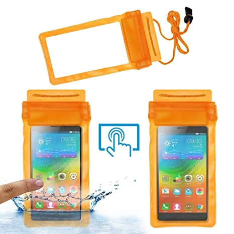 low cost eb6f2 92c28 Acm Waterproof Bag Case for Lenovo A7000 Plus Mobile: Amazon.in ...