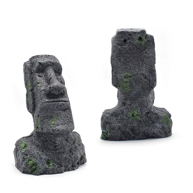 Pascua Mejor decoración para el hogar! Estatua de Cabeza de Isla ...