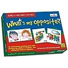Creative Educational Aids P. Ltd. What's My Opposite Puzzle (Multi-Color, 56 Pieces)