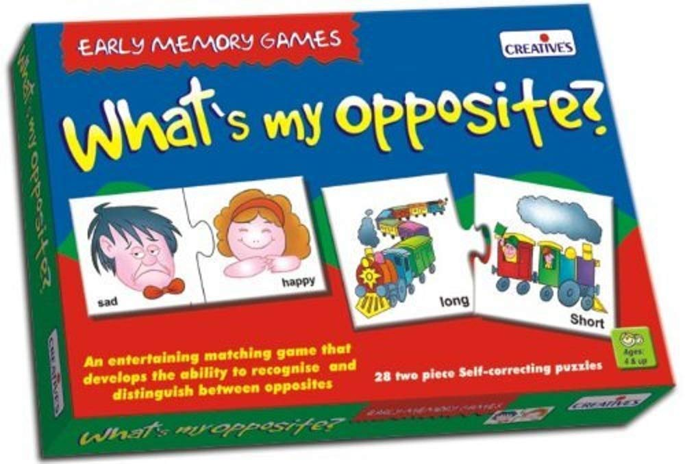 Creative's What's My Opposite Puzzle (Multi-Color, 56 Pieces) product image