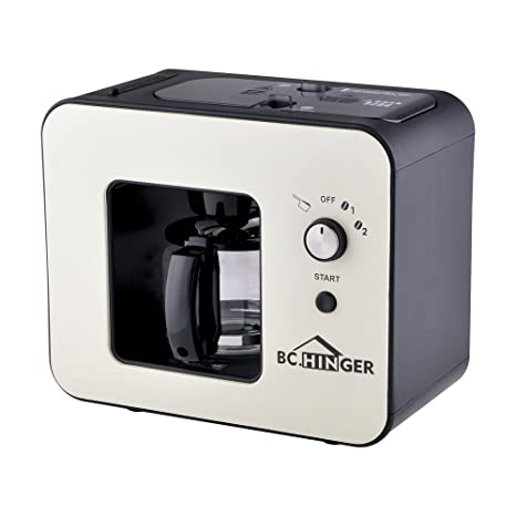 Amazon.com: BC Hinger Grind y Brew Cafetera automática ...