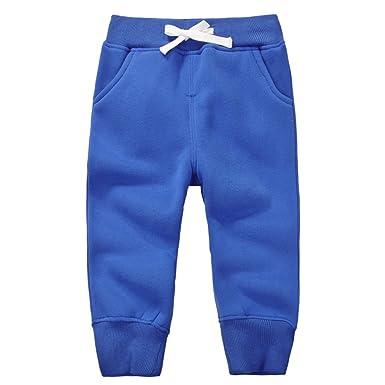 Casa Pantalon de Jogging Sport pour Enfant Garcon , en Coton Pantalons  Jogging Elastique avec ceinture 8f5715d57ab