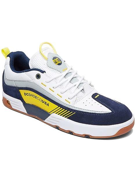 Calzado Deportivo para Hombre, Color Blanco, Marca DC, Modelo Calzado Deportivo para Hombre DC ADYS100435 Blanco: Amazon.es: Zapatos y complementos