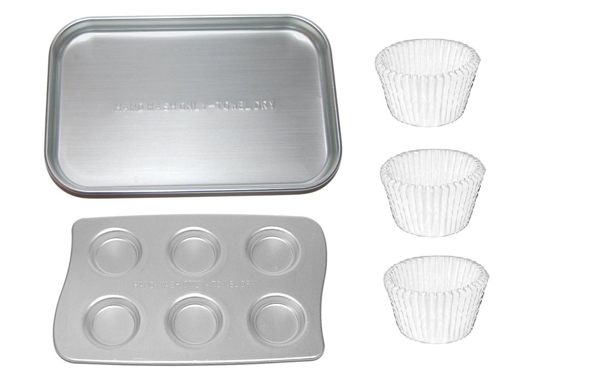 Easy-Bake Ultimate Oven Replacement Pan, Cupcake Pan and Cupcake Liners