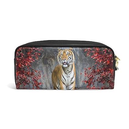 Hunihuni Estuche Estuche Animal Tiger Gran Capacidad Robusto ...